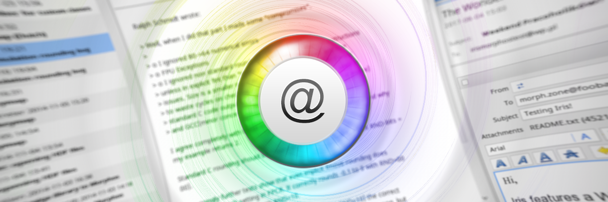 Beta 24 of New Iris Email Client
